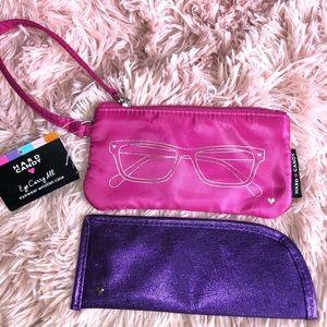 x2 Hard Candy Eyewear wristlet case